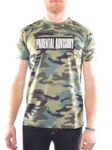 T-Shirt AD125U Parental Advisory S81